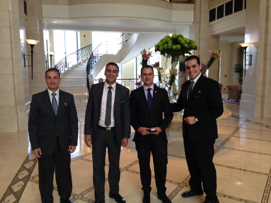 Four Seasons Hotel Amman : Always smiling and helpful