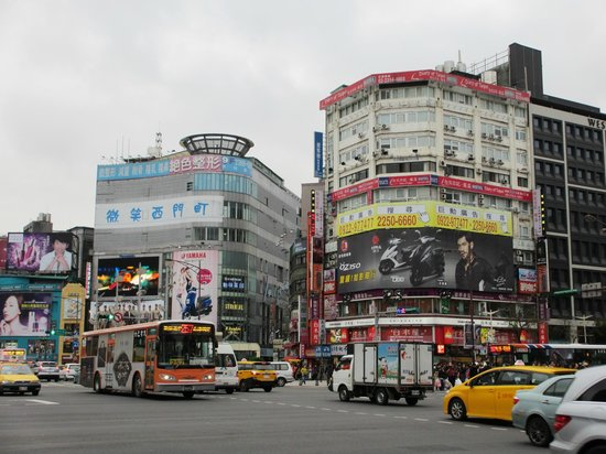 CityInn Hotel Plus - Ximending Branch: Ximending just next to hotel
