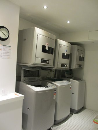 CityInn Hotel Plus - Ximending Branch: Washing machines available to guests (self-help)