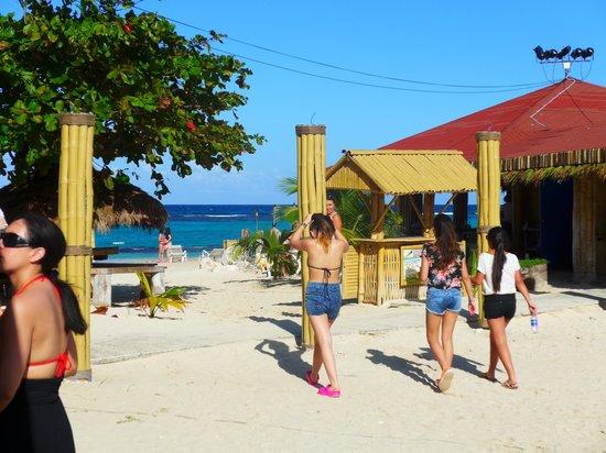 Jamaica Grande Beach : платный пляж