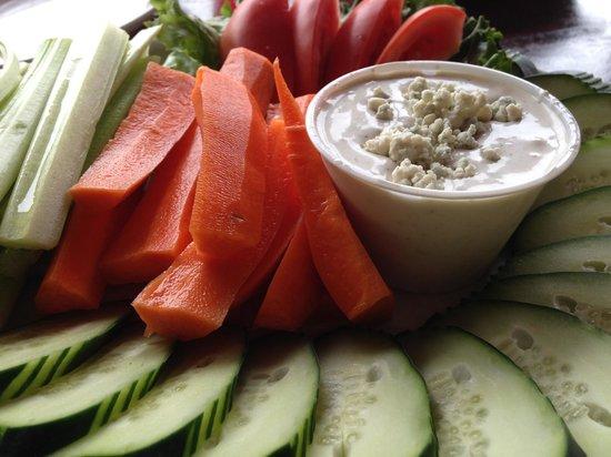 The Frosty Gator: Fresh Veggie Platter