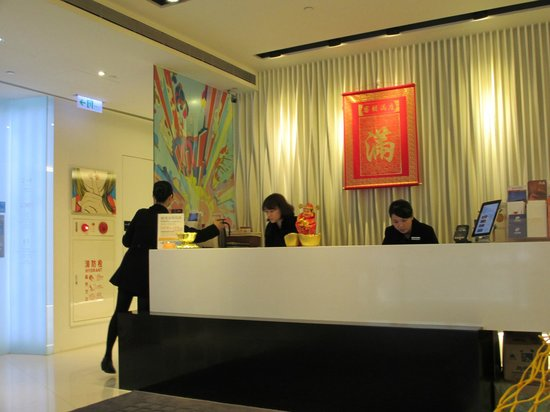 CityInn Hotel Plus - Ximending Branch: Front Desk Reception