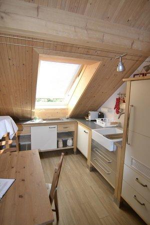 Bed and Breakfast L'Abricotier : angolo cottura della stanza