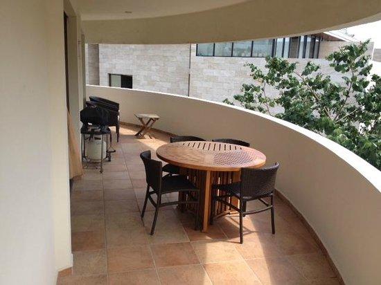 Riviera Maya Suites: Magnifique terrasse