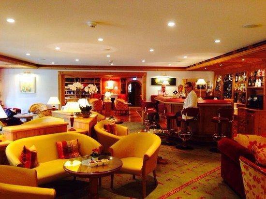 Hotel Adler Häusern: Aufenthaltsraum
