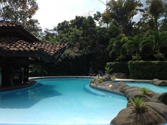 Hotel Mountain Paradise : Pool area