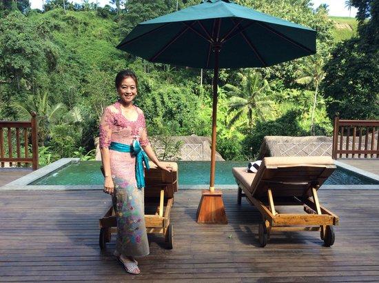 The Lokha Ubud: The pool