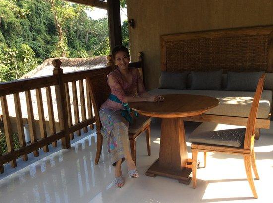 The Lokha Ubud: The pavilion