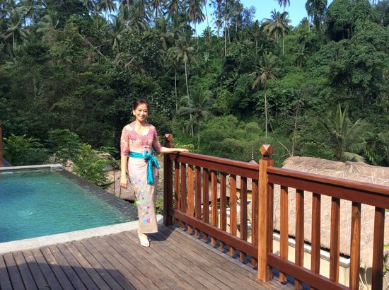 The Lokha Ubud: The view