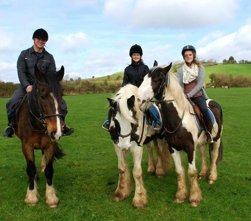 Drumcliffe Equestrian: Happy family