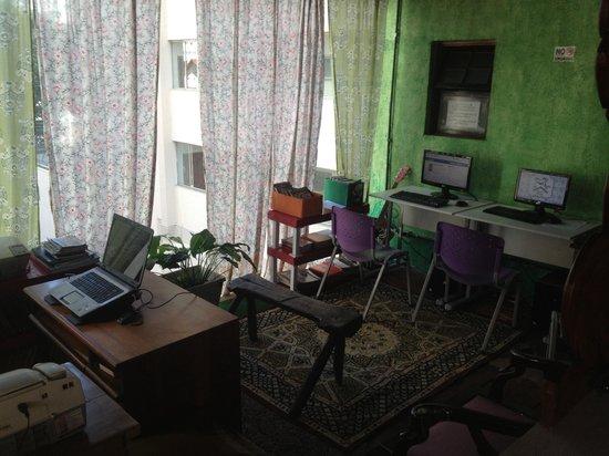 Mooca Hostel Atlântica : Ciber gratuito para todos los huéspedes