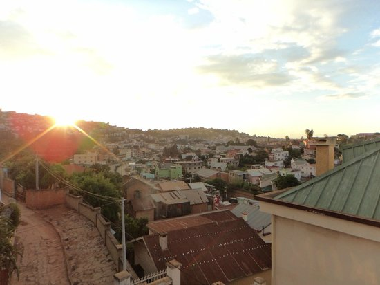 La Maison du Pyla: The view from the roof terrace