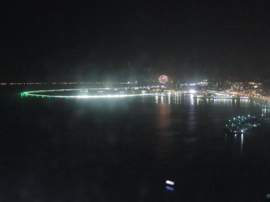 Hard Rock Hotel Panama Megapolis: Esta é a vista do 53º andar - o quarto que ficamos