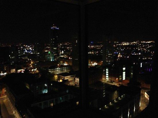 Hotel Indigo Birmingham : View from bar at night