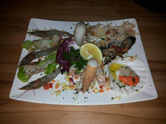 Ristorante Trattoria Africa, Lido Venice : pesce vivo