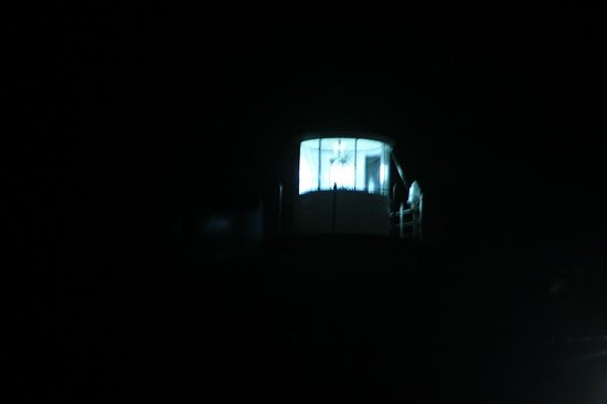 Galle Fort Lighthouse: The Galle Fort Light House at night