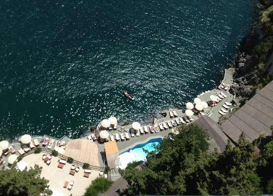 Santa Caterina Hotel: pool area