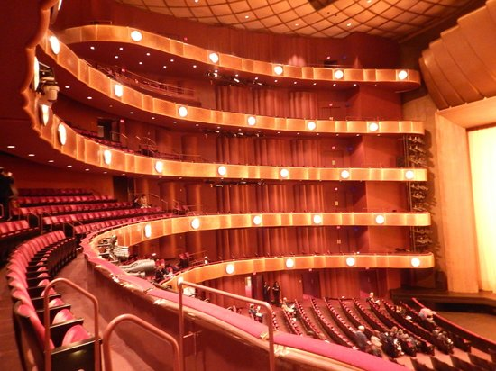 Lincoln Center for the Performing Arts: Teatro onde Vimos o Balé