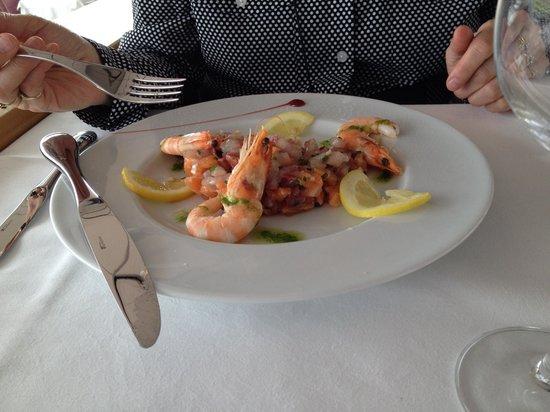 La Table de l'Hippodrome du Bouscat : Tartare Saumon