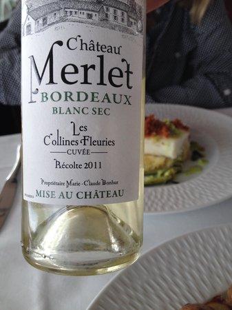 La Table de l'Hippodrome du Bouscat : Local wine selected