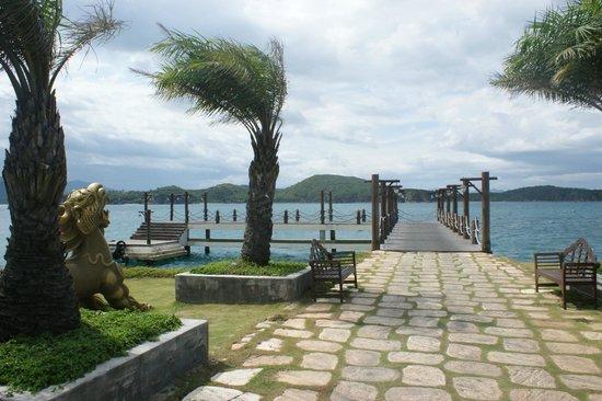 MerPerle Hon Tam Resort : ветерочек