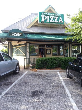 Vinny McGuire's Pizza: Please remove the LandShark photo and replace it with the correct photo of our restaurant. Thank