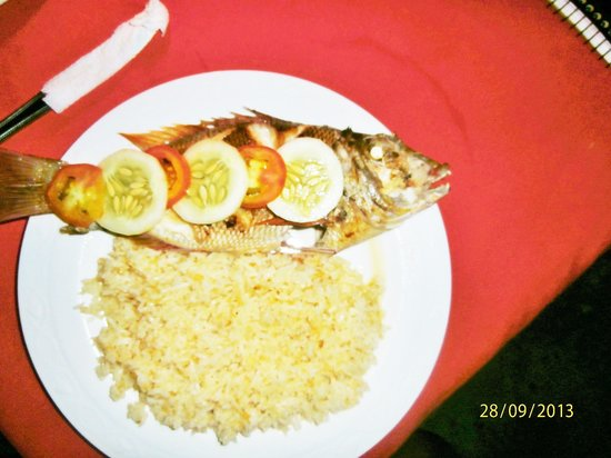 Mabuhay Bar and Restaurant: Fried Fresh Fish