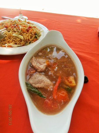 Mabuhay Bar and Restaurant: Lunch Item