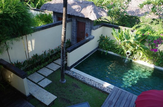 Bali Pavilions: View outside room