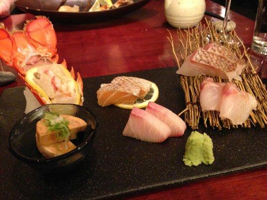 Sashimi at Miyake. Mind blowing.