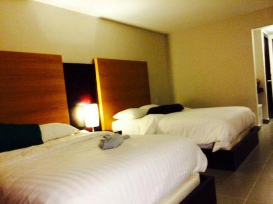 Hotel Coclé: Area de camas