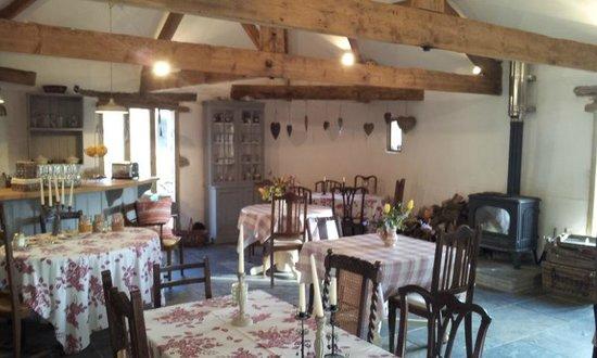 Wonwood Barton B and B: The breakfast room
