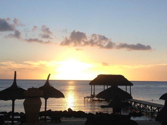 The Oberoi, Mauritius: Sunset at the Oberoi