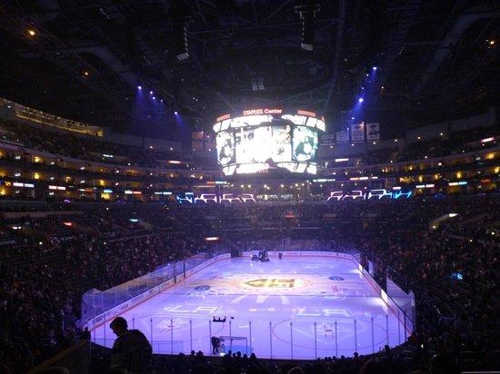 Staples Center : Match de hockey