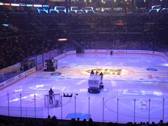 Staples Center: Match de hockey