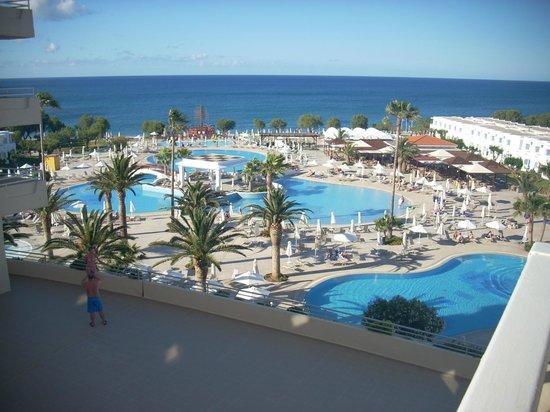 Louis Creta Princess Beach Hotel : udsigt fra vores værelse.....