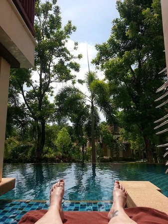 Crown Lanta Resort & Spa : poolen