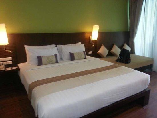 Crown Lanta Resort & Spa : Sängen