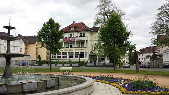 Alte Villa Schlossblick: Alte Villa Schloßblick in Bad Pyrmont am 1.5.2014