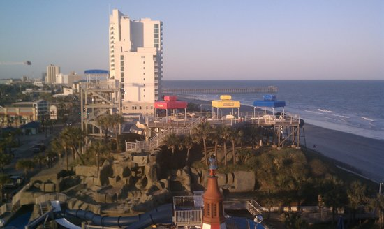 Westgate Myrtle Beach Oceanfront Resort: view from our room