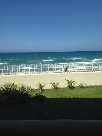Barefoot Beach Pad: view from our balcony