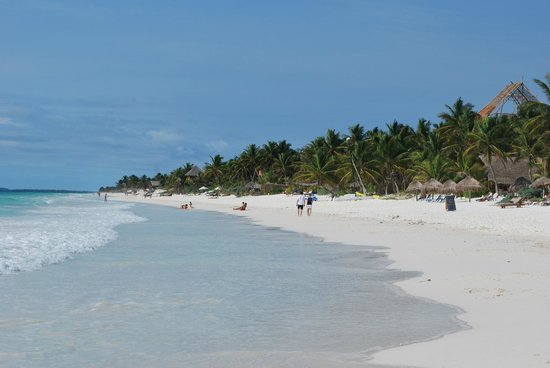 Azucar Hotel : plage