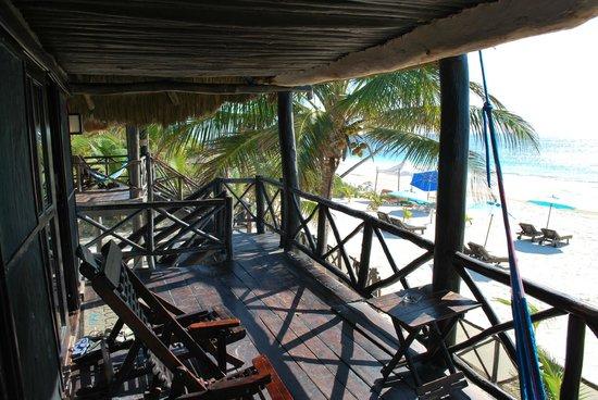Azucar Hotel : Terrasse