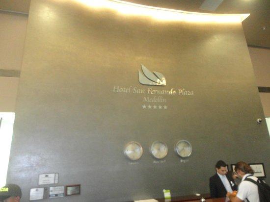 Hotel San Fernando Plaza Medellin: Recepção II
