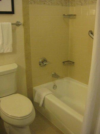 Hilton New Orleans Riverside : tub/shower
