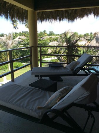 Zoetry Agua Punta Cana: Our private deck