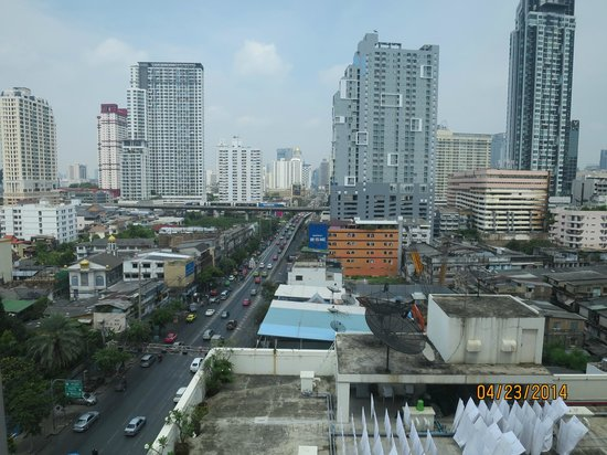 Bangkok City Hotel: Room 1120: View from room