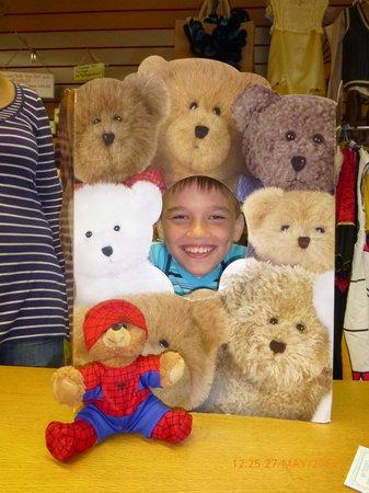 The Teddy Workshop: spider man