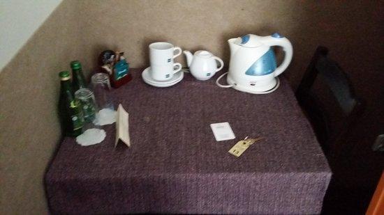 Aparthotel Atelier: Tea & Coffee Facitilies