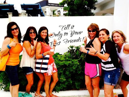 Cofresi Palm Beach & Spa Resort: Happy 50th Birthday with Forever Friends!